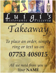 Luigi's York Italian Takeaway Menu